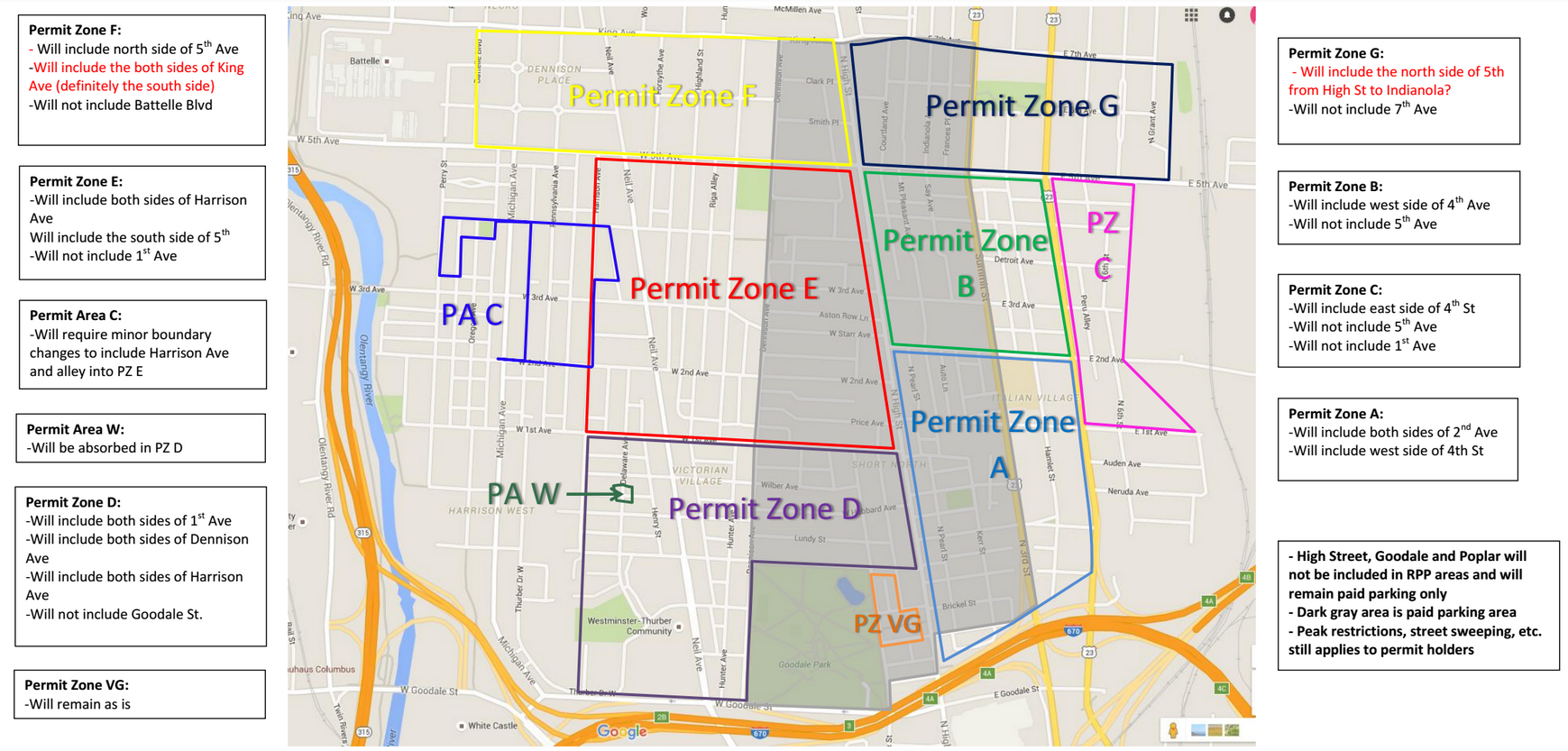 Short North Parking Study 2017 Overview